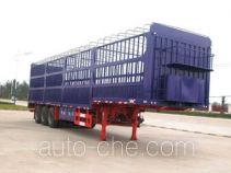 华威驰乐牌SGZ9330CXY型仓栅式运输半挂车