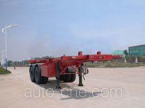 华威驰乐牌SGZ9330TJZ型集装箱运输半挂车