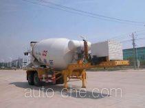 华威驰乐牌SGZ9340GJB型混凝土搅拌运输半挂车