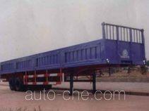 华威驰乐牌SGZ9350Z型自卸半挂车