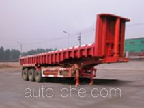 华威驰乐牌SGZ9351ZZX型自卸半挂车