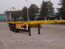 华威驰乐牌SGZ9381TJZ型集装箱运输半挂车