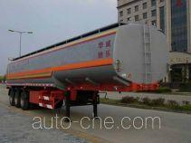 华威驰乐牌SGZ9400GHY型化工液体运输半挂车