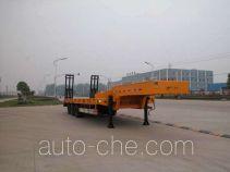 华威驰乐牌SGZ9400TDP型低平板半挂车