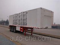 华威驰乐牌SGZ9400XXYA型厢式运输半挂车