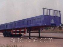 华威驰乐牌SGZ9400Z型自卸半挂车