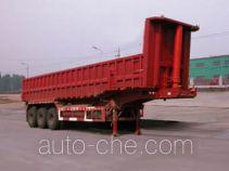 华威驰乐牌SGZ9400ZZX型自卸半挂车