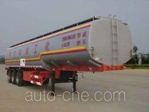 华威驰乐牌SGZ9401GHY型化工液体运输半挂车