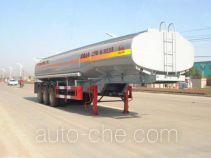 华威驰乐牌SGZ9402GHY型化工液体运输半挂车
