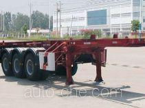 华威驰乐牌SGZ9402TJZ型集装箱运输半挂车