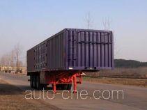 华威驰乐牌SGZ9402XXY型厢式运输半挂车