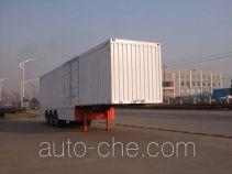 Sinotruk Huawin box body van trailer