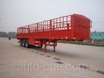 华威驰乐牌SGZ9404CXY型仓栅式运输半挂车