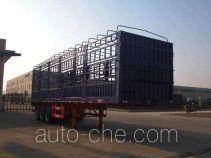华威驰乐牌SGZ9405CXY型仓栅式运输半挂车