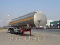 Полуприцеп цистерна алюминиевая для нефтепродуктов Sinotruk Huawin