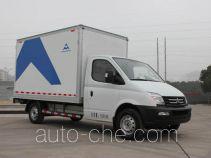 大通牌SH5040XXYA9EV-7F型纯电动厢式运输车