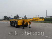 Honghe Beidou SHB9400TWY dangerous goods tank container skeletal trailer