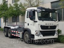 Shanghuan SHW5254ZXX detachable body garbage truck
