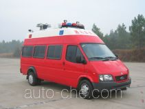 Sujie SJD5040XXFTZ1000 communication fire command vehicle