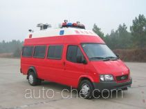 Sujie SJD5040XXFTZ1000Q communication fire command vehicle