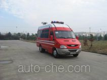Jieda Fire Protection SJD5041XXFTZ1000Y1 communication fire command vehicle