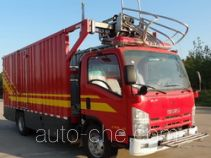 Jieda Fire Protection SJD5100TXFDF10/W fire hose laying loophole truck