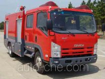Jieda Fire Protection SJD5101GXFSG35/W fire tank truck