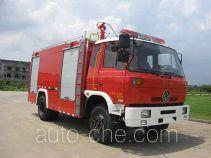 Jieda Fire Protection SJD5140TXFGF30D пожарный автомобиль порошкового тушения
