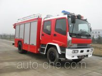 Jieda Fire Protection SJD5140TXFHJ120W chemical accident rescue fire truck
