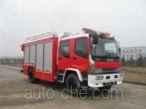 Jieda Fire Protection SJD5140TXFHJ120W пожарно-спасательная машина при химических авариях