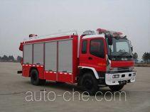 Jieda Fire Protection SJD5140TXFJY75W fire rescue vehicle