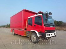 Jieda Fire Protection SJD5140TXFZX60W1/3 hydraulic hooklift hoist fire truck