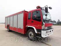 Jieda Fire Protection SJD5140XXFQC100W apparatus fire fighting vehicle