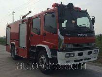 Jieda Fire Protection SJD5141GXFPM50/W foam fire engine