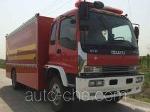 Jieda Fire Protection SJD5141TXFGQ78/W gas fire engine