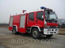 Sujie SJD5141GXFSG50W1 пожарная автоцистерна