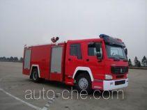 Sujie SJD5180GXFSG70L fire tank truck