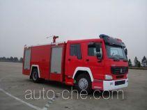 Sujie SJD5190GXFSG80L fire tank truck