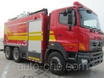 Jieda Fire Protection SJD5190TXFBP200/G pumper (fire pump vehicle)