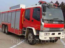 Jieda Fire Protection SJD5221TXFHX60/W chemical decontamination fire engine