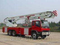 Sujie SJD5250JXFDG32 aerial platform fire truck