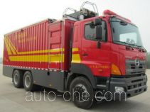 Jieda Fire Protection SJD5250TXFDF30/G fire hose laying loophole truck