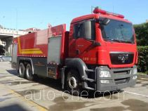 Jieda Fire Protection SJD5261GXFPM120/M foam fire engine