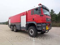 Jieda Fire Protection SJD5270GXFJX110M airport fire engine