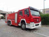 Jieda Fire Protection SJD5270GXFPM120/STA foam fire engine