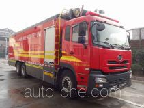 Jieda Fire Protection SJD5271TXFDF30/U fire hose laying loophole truck