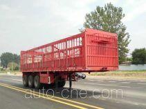 恒廉牌SJS9373CCY型仓栅式运输半挂车