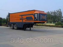 Synchronous chip sealer trailer