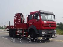 Cementing manifold truck
