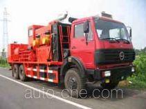 Sinopec SJ Petro SJX5220TYL70 fracturing truck